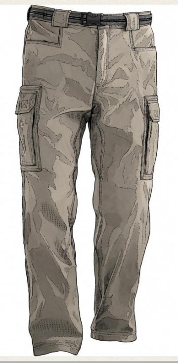 Duluth Trading Men's DuluthFlex Dry On The Fly Cargo Pants