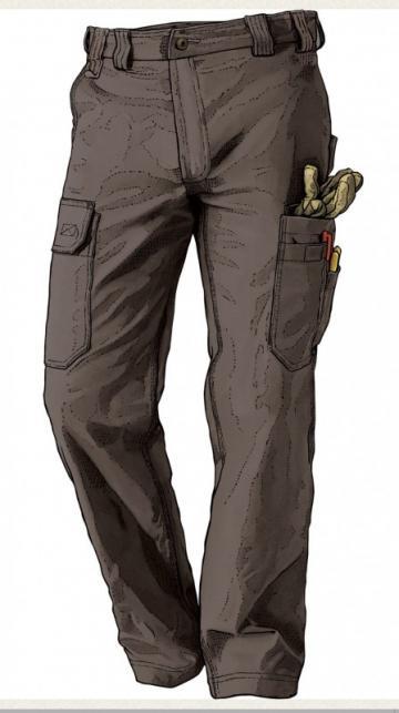 Duluth Trading Men's DuluthFlex Fire Hose Work Pants