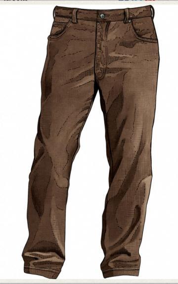 Duluth Trading Men's Fire Hose 5-Pocket Canvas Jeans