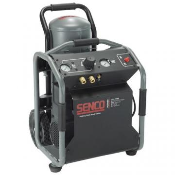 Senco PC0969 4.5 Gallon Roll Away Compressor