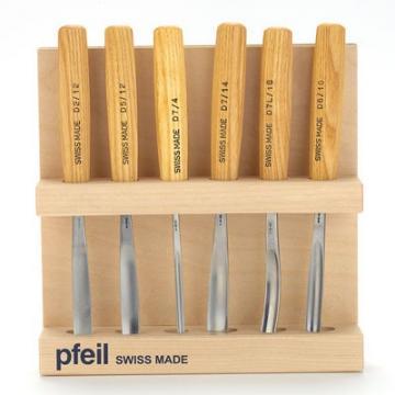 Pfeil 6-Piece Carving Chisel Set