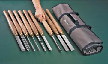 Lee Valley 9-Piece Turning Chisel Set