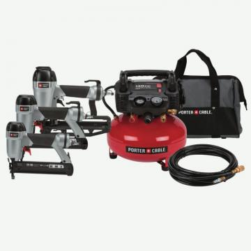 Porter-Cable Nailer/6-Gallon Compressor Kit