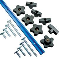 "Rockler 17-Piece 48"" T-Track Kit"