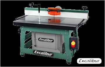 Excalibur 40-100 Deluxe Benchtop Router Table