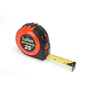 Lufkin 25' Self-Centering Tape Measure