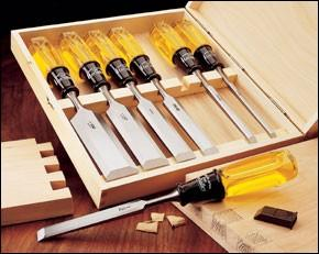 Lee Valley Bevel-Edge Bench Chisels