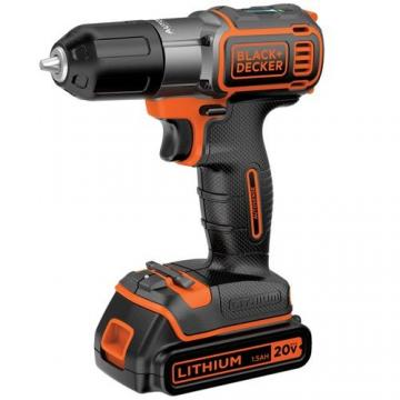 Black & Decker 20V Drill/Driver w/Autosense Technology
