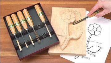 Henry Taylor 6-Piece Carving Set