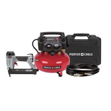 Porter-Cable Brad Nailer/Compressor Kit