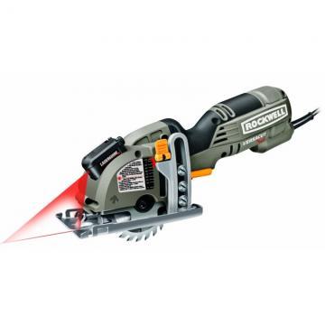 Rockwell VersaCut Mini Circular Saw with Laser
