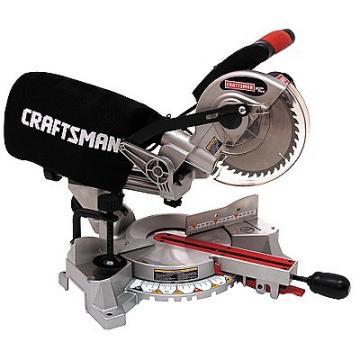 Craftsman 21194 Single Bevel Sliding Compound Mitersaw