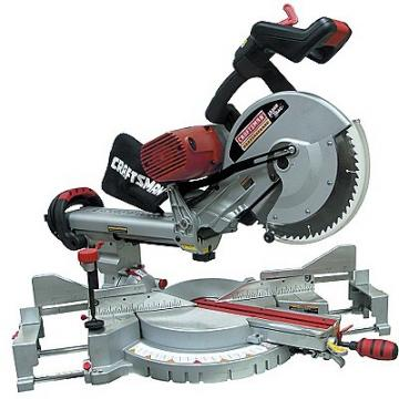 Craftsman 21221 Dual Bevel Sliding Compound Mitersaw