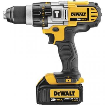 DeWalt 20V 3-Speed Hammerdrill