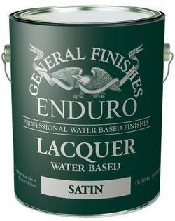 General Finishes Enduro Waterbase Lacquer