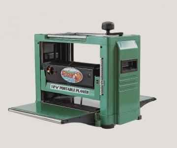 """Grizzly 12.5"""" Portable Benchtop Planer"""