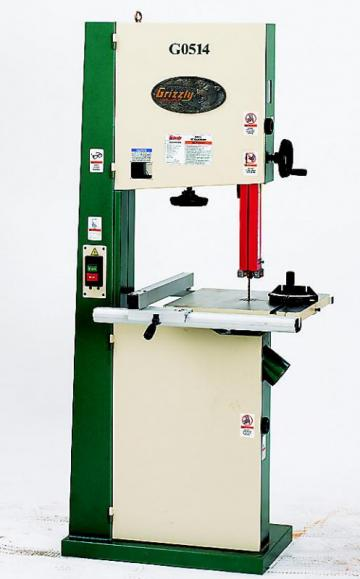 """Grizzly G0514 19"""" Heavy-Duty Bandsaw"""