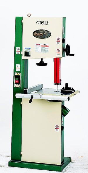 """Grizzly G0513 17"""" Bandsaw"""