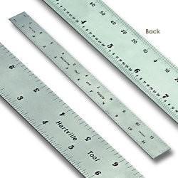 Hartville Tool Centering Steel Rule