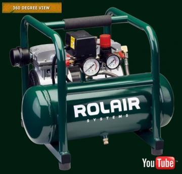 Rolair JC10 2.5-Gallon Air Compressor