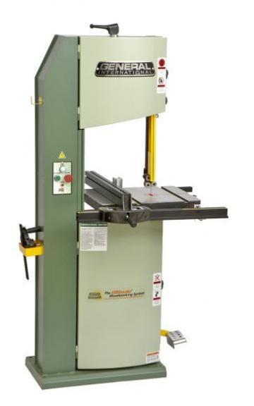 "General International 14"" Bandsaw #90-170B"