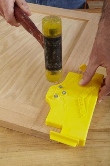 Hingemark hinge alignment tool