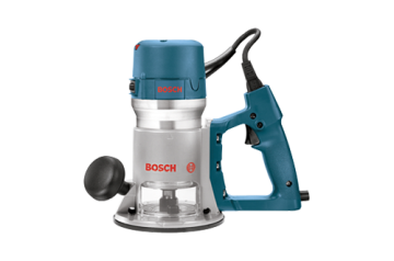 Bosch 2-1/4 HP Fixed Base D-Handle Router #1618EVS