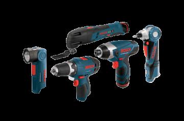 Bosch 12V Five-Tool Kit