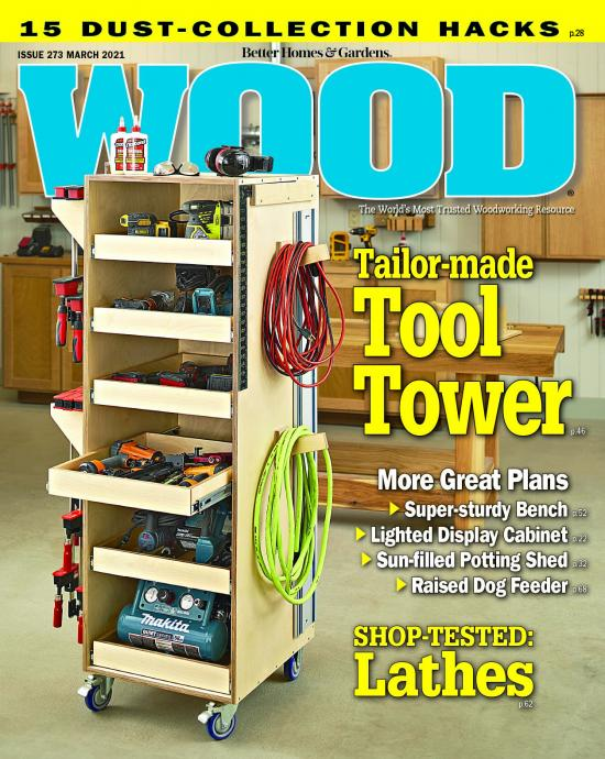 magazine cover showing tool tower