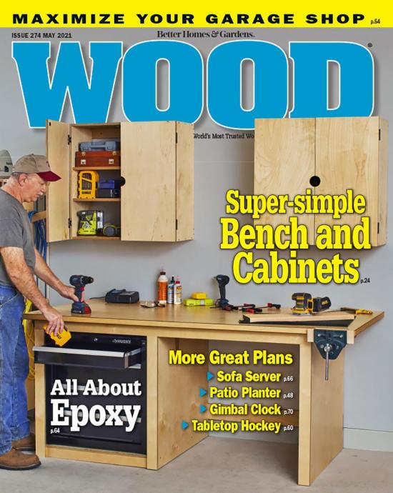 cover of WOOD magazine 274